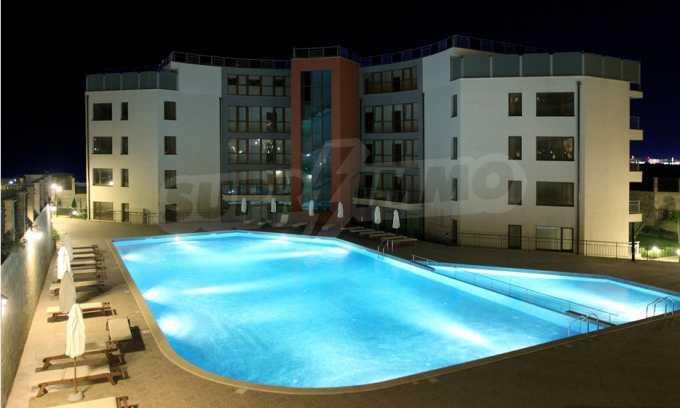 Neubau-Apartments im attraktiven Komplex in erster Meereslinie in Sweti Wlas 12