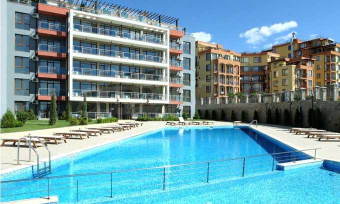 Neubau-Apartments im attraktiven Komplex in erster Meereslinie in Sweti Wlas 2