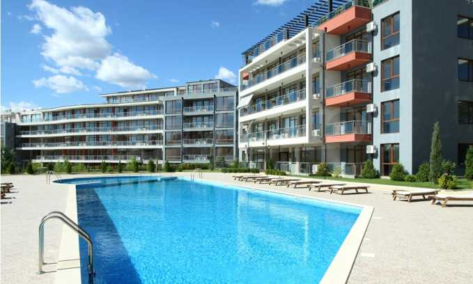 Neubau-Apartments im attraktiven Komplex in erster Meereslinie in Sweti Wlas 4