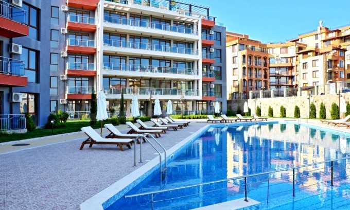 Neubau-Apartments im attraktiven Komplex in erster Meereslinie in Sweti Wlas 5