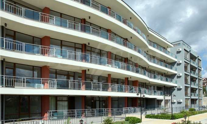 Neubau-Apartments im attraktiven Komplex in erster Meereslinie in Sweti Wlas 7