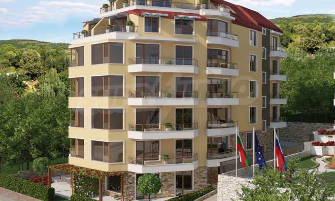 2-Raum-Apartment in der Nähe vom Strand in Obzor