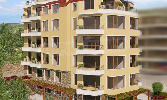 2-Raum-Apartment in der Nähe vom Strand in Obzor 1