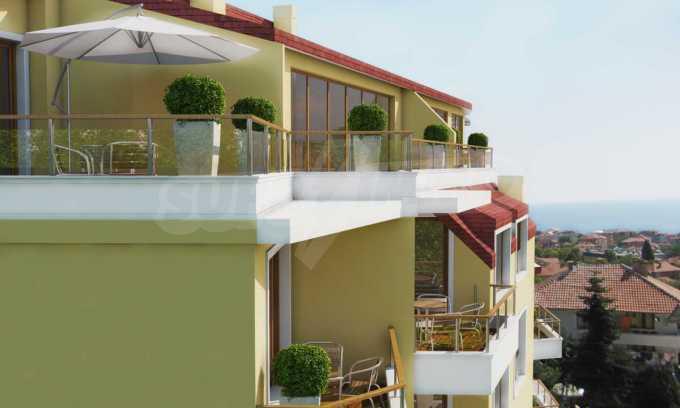 2-Raum-Apartment in der Nähe vom Strand in Obzor 2