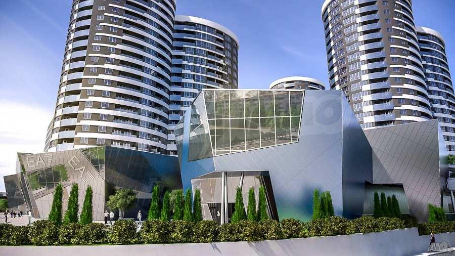 2-Raum-Apartment mit Stellplatz im neu zu bauenden modernen Komplex in Burgas