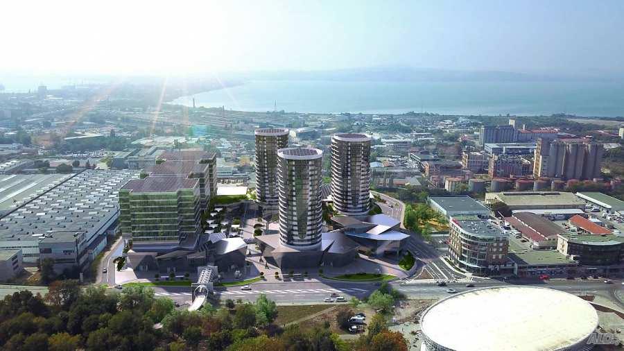 2-Raum-Apartment mit Stellplatz im neu zu bauenden modernen Komplex in Burgas 3