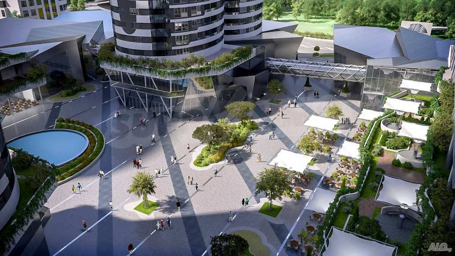 2-Raum-Apartment mit Stellplatz im neu zu bauenden modernen Komplex in Burgas 4