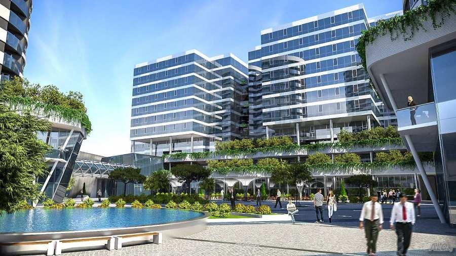 2-Raum-Apartment mit Stellplatz im neu zu bauenden modernen Komplex in Burgas 5