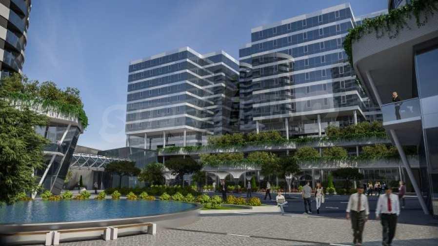 2-Raum-Apartment mit Stellplatz im neu zu bauenden modernen Komplex in Burgas 6