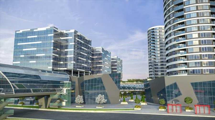 2-Raum-Apartment mit Stellplatz im neu zu bauenden modernen Komplex in Burgas 8