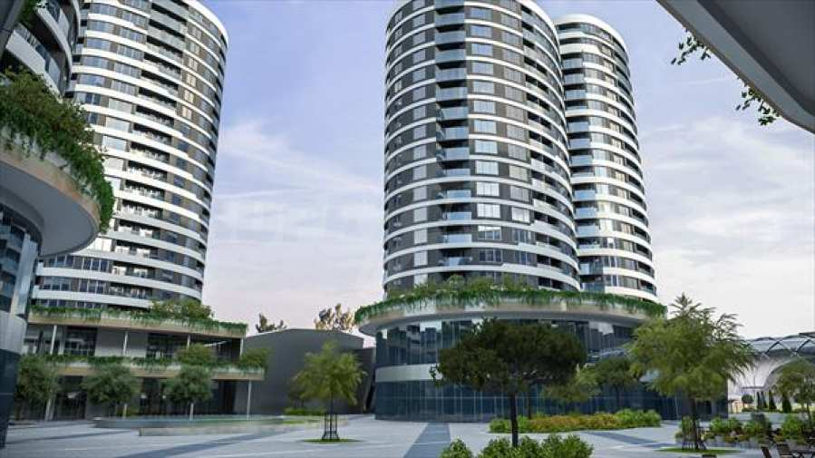 2-Raum-Apartment mit Stellplatz im neu zu bauenden modernen Komplex in Burgas 12