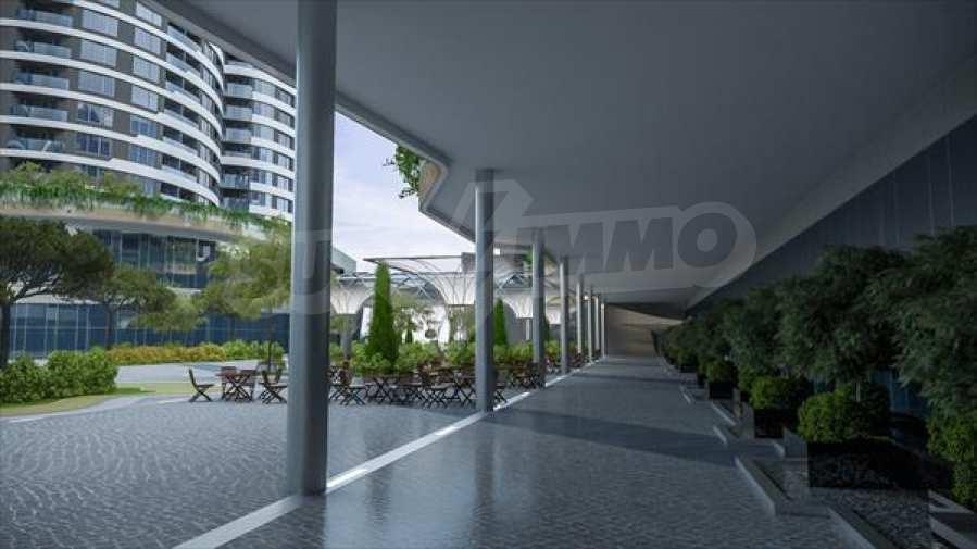 2-Raum-Apartment mit Stellplatz im neu zu bauenden modernen Komplex in Burgas 13