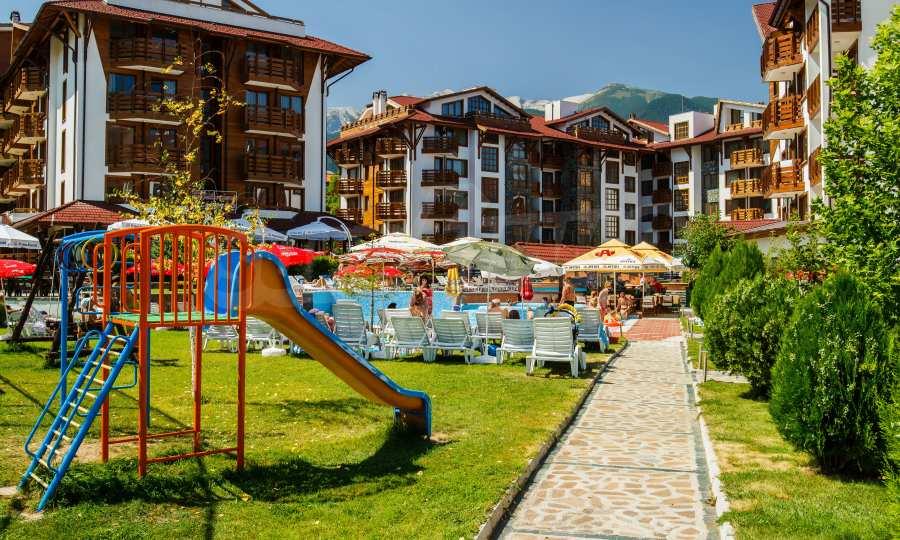 Möbliertes 2-Raum-Apartment im modernen Komplex Belvedere Holiday Club in Bansko 1