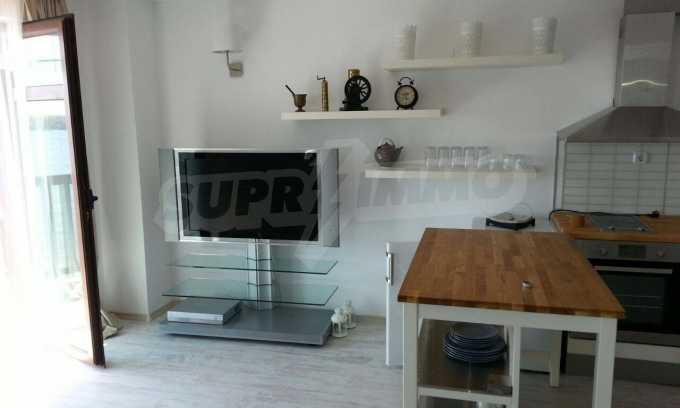 3-Raum-Apartment in erster Meereslinie am Strand Arapja neben Tsarewo 6