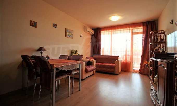 2-Raum-Apartment im Komplex im Zentrum vom Sonnenstrand 4