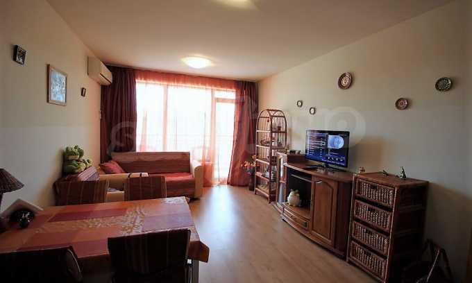2-Raum-Apartment im Komplex im Zentrum vom Sonnenstrand 5