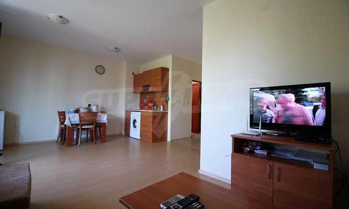 2-Raum-Apartment im modernen Komplex im Zentrum vom Sonnenstrand