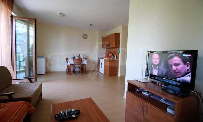 2-Raum-Apartment im modernen Komplex im Zentrum vom Sonnenstrand 1