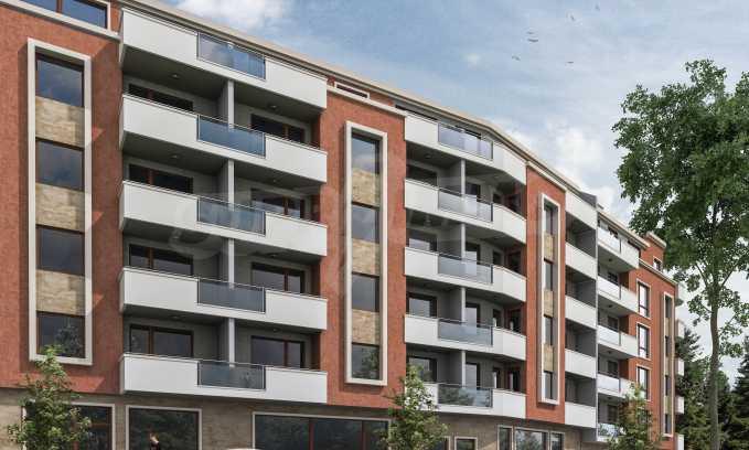 Gebäude mit einer modernen Architektur und in einer hervorragenden Lage im Stadtteil Levski 1