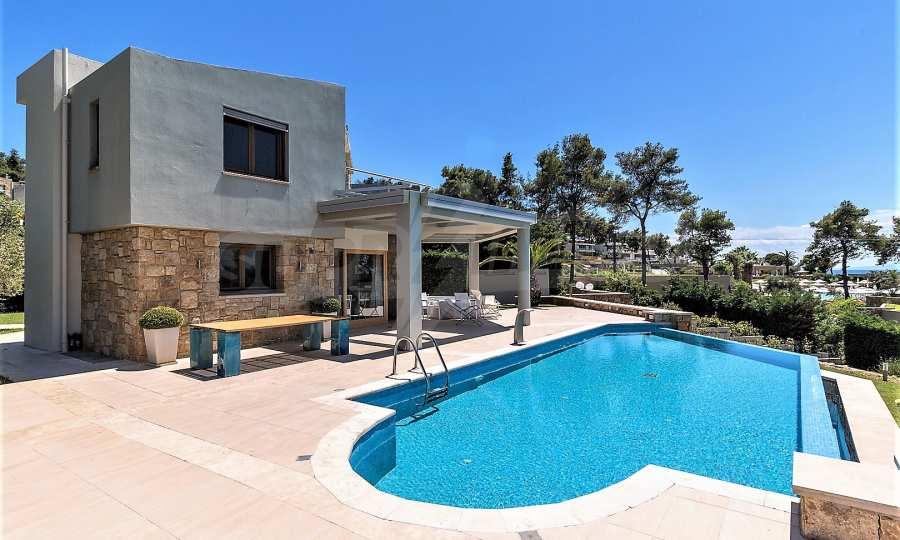 Villa mit Schwimmbad in Sani Beach Club, Chalkidiki