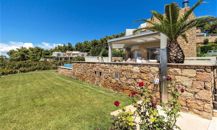 Villa mit Schwimmbad in Sani Beach Club, Chalkidiki 12