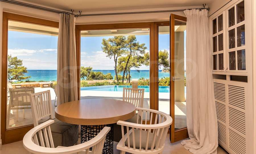 Villa mit Schwimmbad in Sani Beach Club, Chalkidiki 18