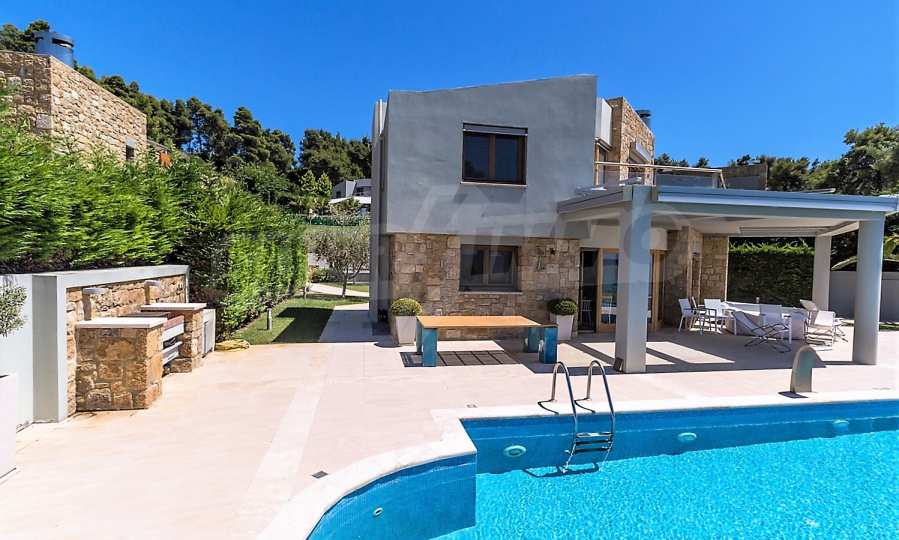 Villa mit Schwimmbad in Sani Beach Club, Chalkidiki 41