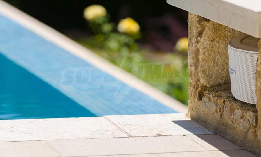 Villa mit Schwimmbad in Sani Beach Club, Chalkidiki 45