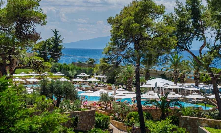 Villa mit Schwimmbad in Sani Beach Club, Chalkidiki 46
