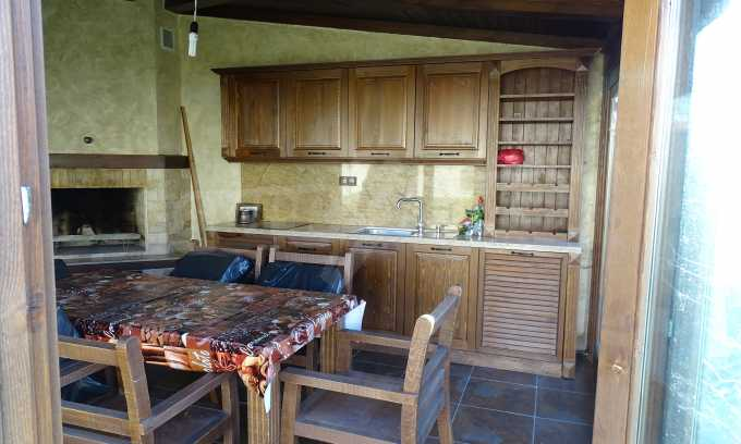 Furnished house with large yard and barbecue area in Krichim 10