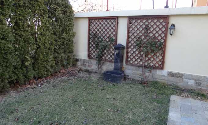 Furnished house with large yard and barbecue area in Krichim 11