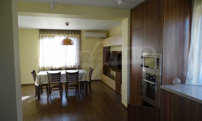 Furnished house with large yard and barbecue area in Krichim 22