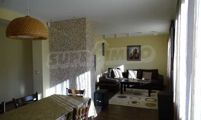 Furnished house with large yard and barbecue area in Krichim 23