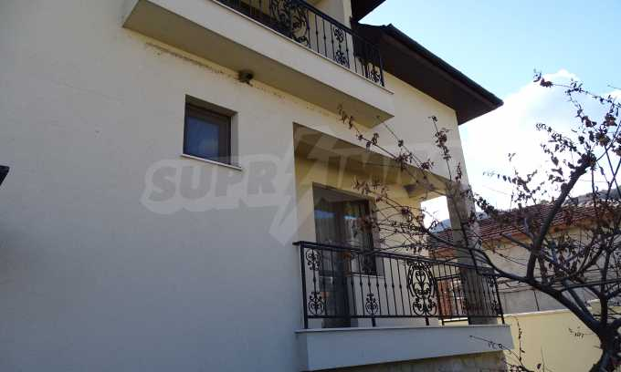 Furnished house with large yard and barbecue area in Krichim 35