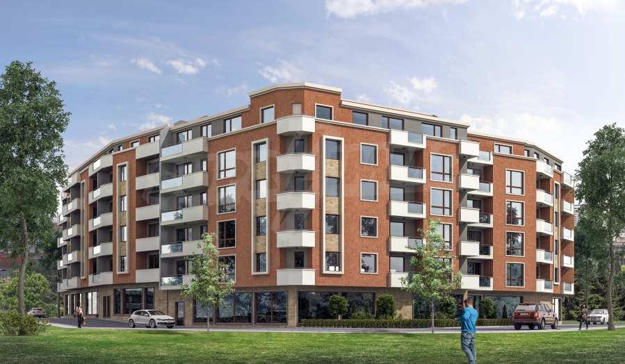 2-Raum-Apartment im Gebäude mit einer modernen Architektur und in einer hervorragenden Lage im Stt. Levski in Varna