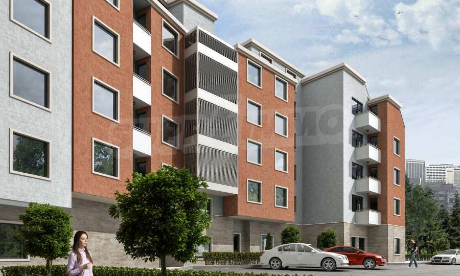 2-Raum-Apartment im Gebäude mit einer modernen Architektur und in einer hervorragenden Lage im Stt. Levski in Varna 1