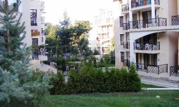 Vom Strand in Golden Sands 100 m entferntes 2-Raum-Apartment