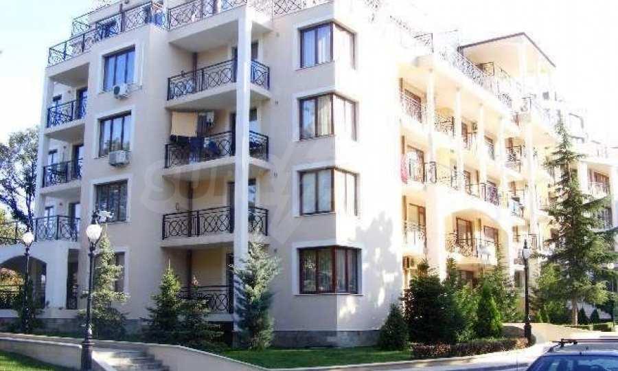 Vom Strand in Golden Sands 100 m entferntes 2-Raum-Apartment  1