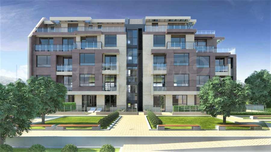 Двустаен апартамент в затворен комплекс до МОЛ Парадайс
