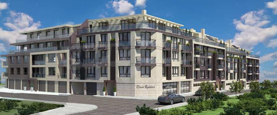 Двустаен апартамент в затворен комплекс до МОЛ Парадайс 1