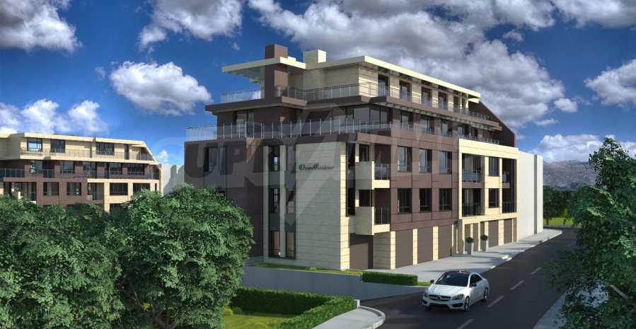 Двустаен апартамент в затворен комплекс до МОЛ Парадайс 2