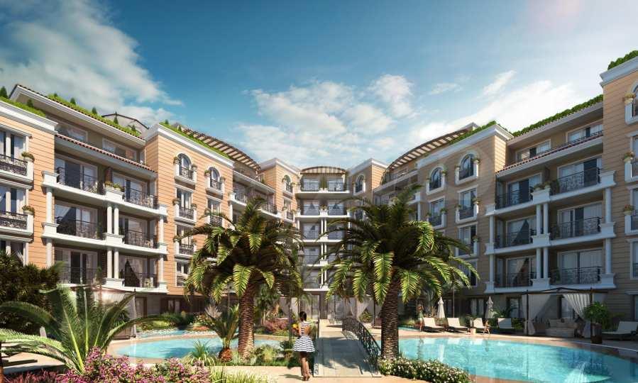 Apartment mit zwei Schlafzimmern in einem stilvollen Komplex in der Nähe von Cacao Beach 1