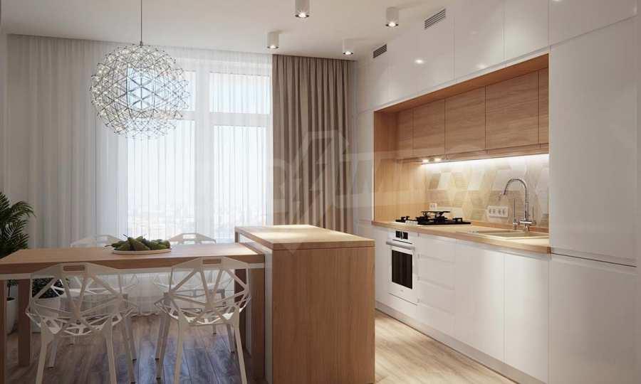 Слънчев и много топъл двустаен апартамент в луксозна сграда в кв. Левски
