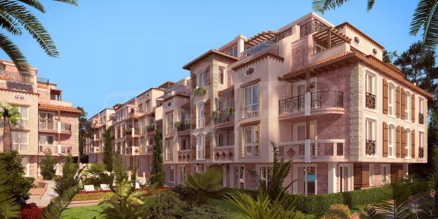 Тристаен апартамент в първокласен комплекс на първа линия на Каваците 18