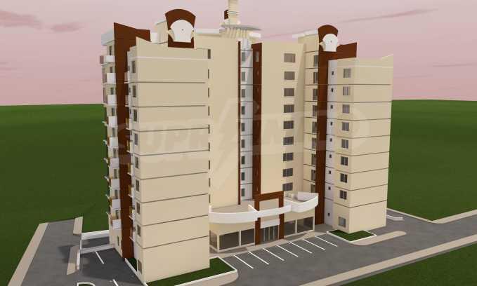 Günstige Wohnung mit einem Schlafzimmer in Troshevo Bezirk 2
