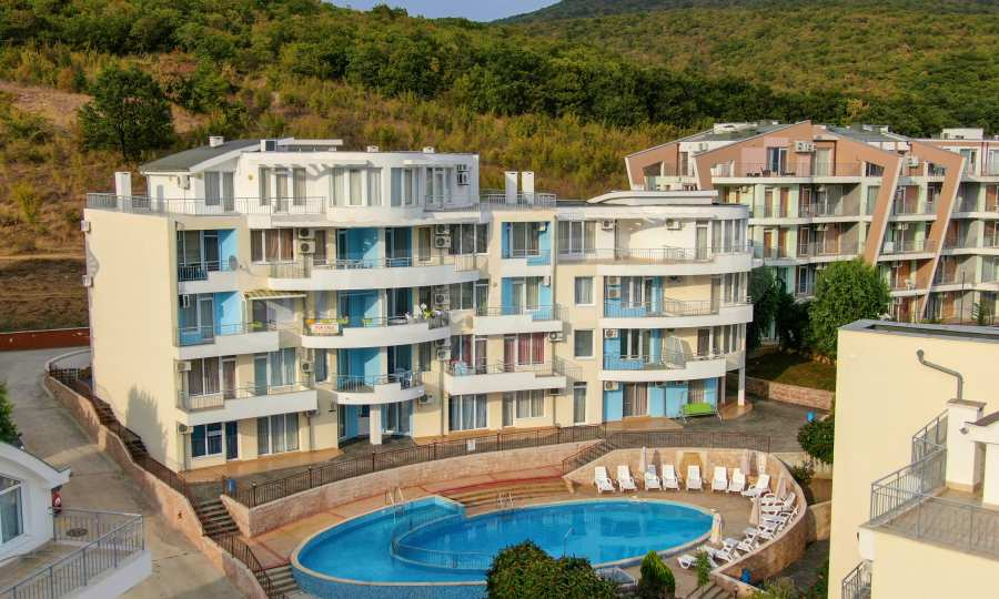 Turnkey studio for sale in Kosharitsa village near Sunny Beach, Bulgaria