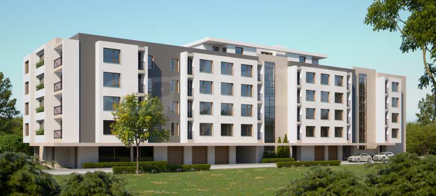 """New 3-bedroom apartment in a residential building near """"Bulgaria"""" Blvd."""