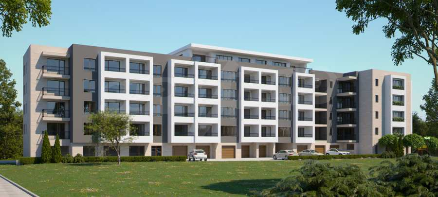 """New 3-bedroom apartment in a residential building near """"Bulgaria"""" Blvd. 2"""