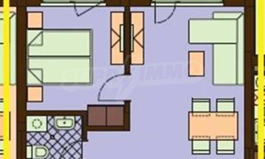 2-Raum-Apartment in einer prestigeträchtigen Anlage beim Strand Kavatsi 10