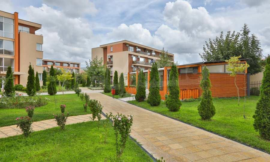 Apartment mit 2 Schlafzimmern in einem Golfkomplex in der Nähe des Action Parks 4